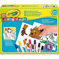 Набор для рисования Crayola Мой первый пазл-наклейка