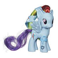 My Little Pony Рейнбов Дэш Радуга с лентой Rainbow Dash Figure