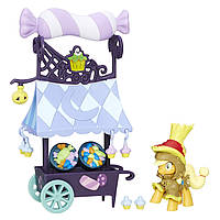 My Little Pony Friendship is Magic Collection Sweet Cart With Applejack Сладкая тележка Эпплджек