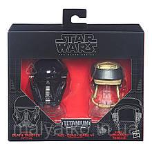 """Міні-шоломи імперського солдата-смертника і повстанця """"Зоряні війни"""" - Star Wars, Black Series, Hasbro"""