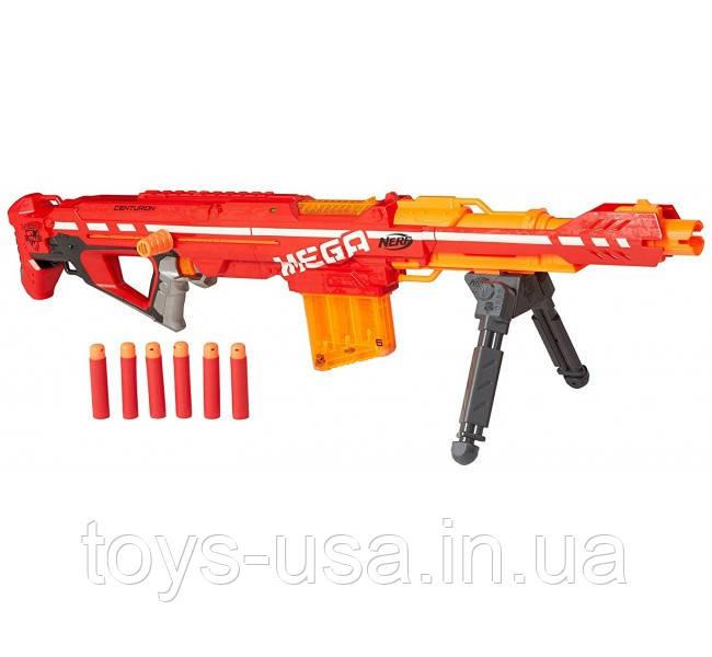 Бластер Нерф Центурион NERF N-Strike Elite Centurion Mega Blaster