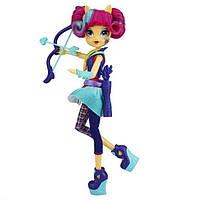 Шарнирная кукла My little pony Equestria Girls Friendship Games Archery Sour Sweet