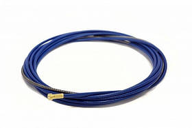 Подаючий канал Ø0.8-1.0 мм, 3.4 м синій для напівавтоматичного зварювання сталевий і нержавіючої дротом
