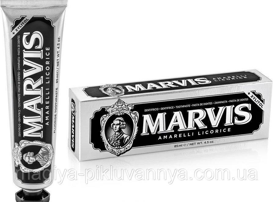 Паста зубна Жовта солодка м`ята Marvis licorice mint, 85 мл, арт 111749