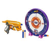 Бластер Нерф с мишенью Nerf N-Strike Elite Precision Target Set Colors Vary