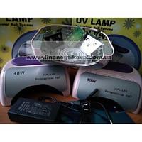 Гибридная лампа для сушки ногтей CCFL + LED, 48 Вт
