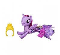 Май литл пони Русалка Твайлайт Спаркл Искорка в волшебном платье My Little Pony Land and Sea Fashion Seapony Twilight Sparkle