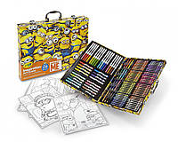 Crayola Despicable Me Inspiration Art Case 120 Pieces Minions Набор Крайола