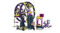 Мега блокс Mega Construx Monster High School Carnival Building Set Action