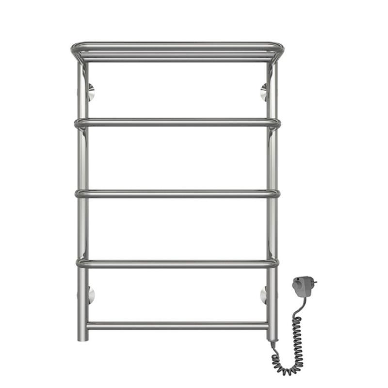 Электрический полотенцесушитель  Q-tap Standard shelf (CRM) P5 500х700 RE