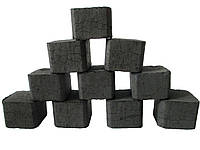 Натуральный ореховый уголь для кальяна 80 куб.