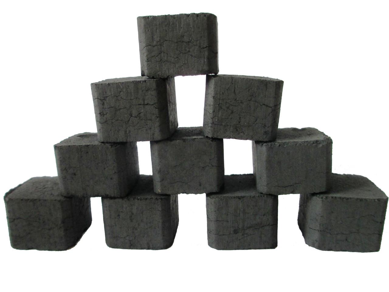 """Натуральный ореховый уголь для кальяна 80 куб. - Магазин кальянов """"Колба"""" в Черкассах"""