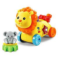 VTech Лев с шестеренками музыкальная розвивающая игрушка Gearzooz Gearbuddies Lion and Mouse Yellow