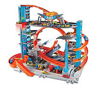 Хот Вилс Ультимейт гараж с Акулой Hot Wheels City Ultimate Garage with Shark