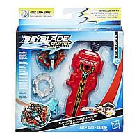 Бейблейд Экскалиус X3 и меч пускатель Эволюция Beyblade Burst Xcalius X3