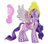 Май литл пони Принцесса Твайлайт с блестками 11см My Little Pony Princess Twilight Sparkle Glitter Celebration