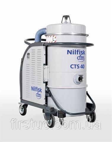 Промышленный пылесос NILFISK CFM CTT 40