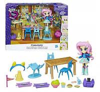 My Little Pony Equestria Girls Minis Fluttershy School Cafeteria Set Школьное кафе