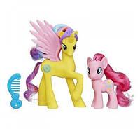 My Little Pony Friendship is Magic Cutie Mark Magic Princess Gold Lily & Pinkie Pie