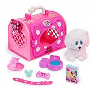 Игровой набор Minnie Happy Helpers Pet Carrier, Pink White