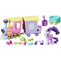 Игровой набор My Little Pony Поезд дружбы из серии Путешествие по Эквестрии Explore Equestria Friendship Express Train