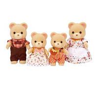 Семья Бежевых сахарных Медведей Calico Critters Cuddle Bear Family