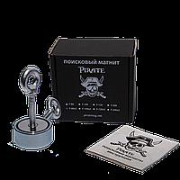 Поисковый магнит F-80х2 Пират двухсторонний + ТРОС 🎁