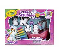 Crayola раскрашиваемые питомцы с ванной Scribble Scrubbie Toy Pet Playset