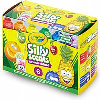 Ароматные краски Крайола Crayola Silly Scents 6 цветов