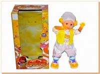 Музыкальная кукла танцор 9405