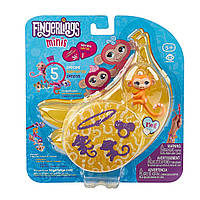 Браслет Fingerlings Minis Banana Blister Bracelet and Charm