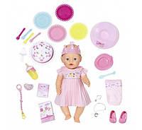 Интерактивный Пупс День рождения Baby Born Zapf Creation 824054