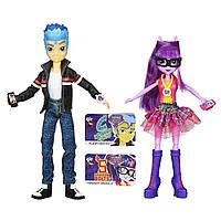 Набор кукол Equestria Girls Игры дружбы B1780 Friendship Games - Twilight Sparkle & Flash Sentry