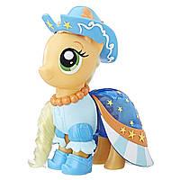 Пони-модница My Little Pony Эппл Джек с аксессуарами 15см Snap-On Fashion