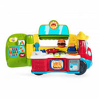 Фургон-кухня двуязычная обучающая игрушка 2-в-1 Chicco 07416. 240