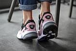 Стильні жіночі кросівки Adidas Falcon Black/Pink, фото 6