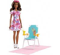 Барби и пляжный лежак FPR55 Barbie Beach Chair