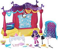 Игровой набор My Little Pony Equestria Girls Minis Canterlot High Dance Playset with Twilight Sparkle Doll