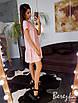 Легкое платье с рюшами на юбке  и поясом, фото 9