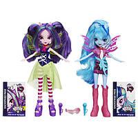 My Little Pony Equestria Girls Aria Blaze и Sonata Dusk Набор кукол Ария Блэйз и Соната Даск