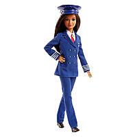 Кукла  Barbie Я могу быть Пилот FJB10 Mattel