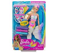 Кукла Barbie Барби Цветная русалочка GCG67