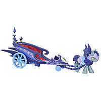 My Little Pony Friendship Is Magic Collection Moonlight Chariot with Pony Лунная колесница с пони