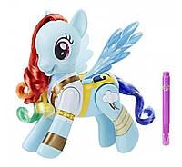Интерактивная пони Рейнбоу Дэш пират  My Little Pony Flip Whirl The Movie Pirate Rainbow Dash