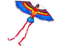 Воздушный змей Птица  Синий