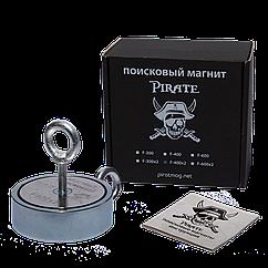 Поисковый магнит F-400х2 Пират двухсторонний + ТРОС 🎁