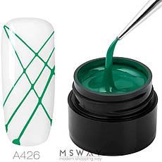 Rosalind Гель-паутинка в баночке 5ml Тон A426 зеленая эмаль, фото 2