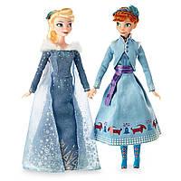Набор кукол Холодное сердце Анна и Эльза приключение Олафа Anna Elsa Olaf Frozen