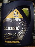 Полусинтетическое моторное масло Mannol Classic 10w40 (5 литров)