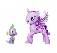 Дуэт дружбы Твайлайт и Спайк My Little Pony Princess Twilight Sparkle & Spike the Dragon Friendship Duet